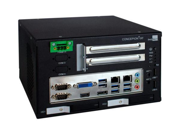 CONCEPION®-tXf | kompakter Embedded PC | 2x PCIe x8