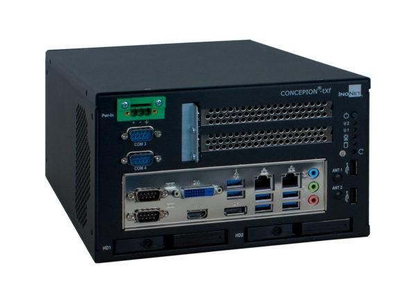 CONCEPION®-tXf-L | Embedded PC | 2x PCIe x8