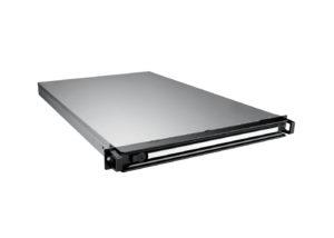 Entry Level - GPU Server Frontansicht, schräg