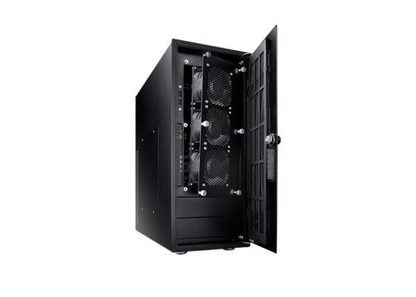 Performance Level - HPC Server Frontansicht, aufrecht, schräg, offen